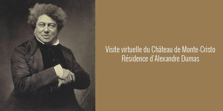 visite virtuelle du château de monte-cristo résidence d'alexandre dumas