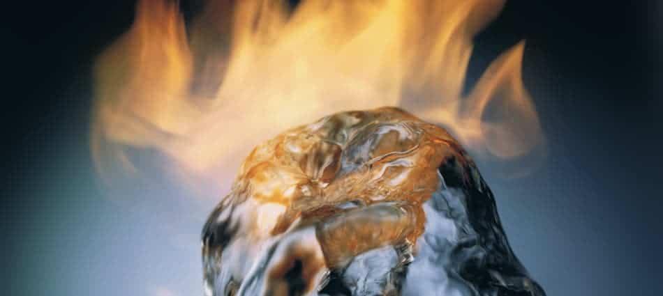 visite virtuelle eau enflammée