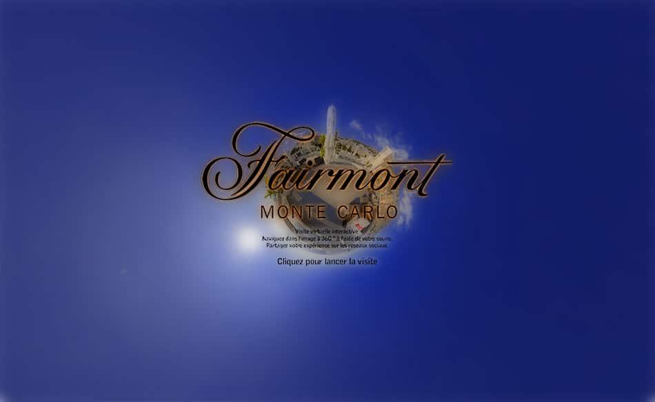 visite virtuelle hotel fairmont monaco