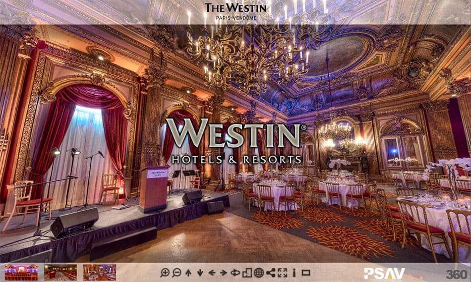 visite virtuelle de l'Hotel Westin