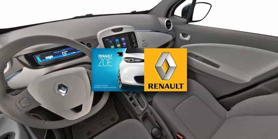 visite virtuelle de la Renault Zoé
